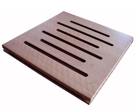 条形孔木吸音板