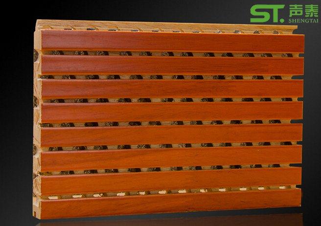 木皮面槽木吸音板