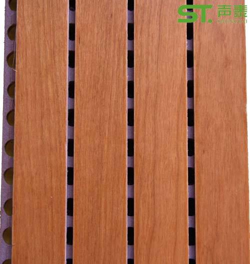 木皮槽木吸音板