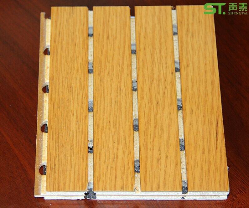 油漆面复合槽木吸音板