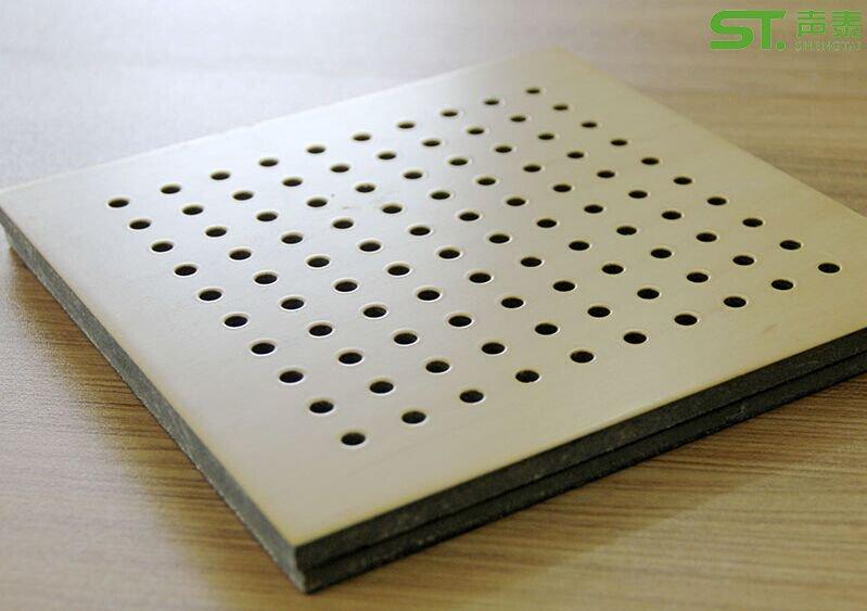 安格利木皮孔木吸音板
