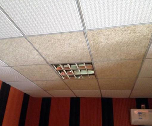 木丝板吸音板装饰效果图