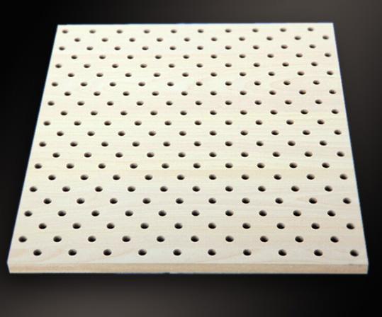 微孔穿孔木质吸音板