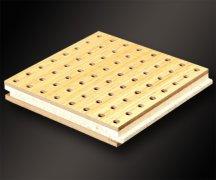 复合孔木吸音板