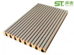 浙江槽木吸音板生产厂家