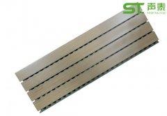 防潮槽木吸音板